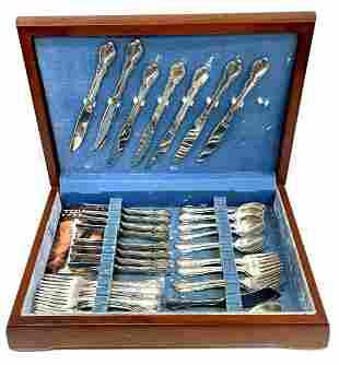 20th Century Towle Fine Sterling Legato Pattern Silver
