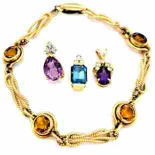 Suite of 14k Gold & 12k Gold Filled Jewelry