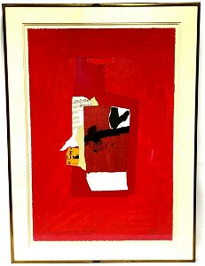 Redness of Red by Robert Burns Motherwell (1915-1991)
