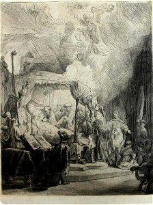 The Death of the Virgin by Rembrandt Van Rijn ca1790
