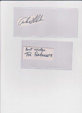 10: Arlene Golonka 1936, Autograph Signature,  American