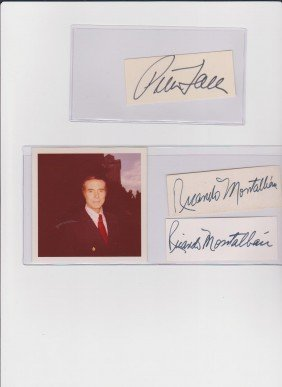 17: Peter Faulk 1927-2011, Autograph Sigature, American