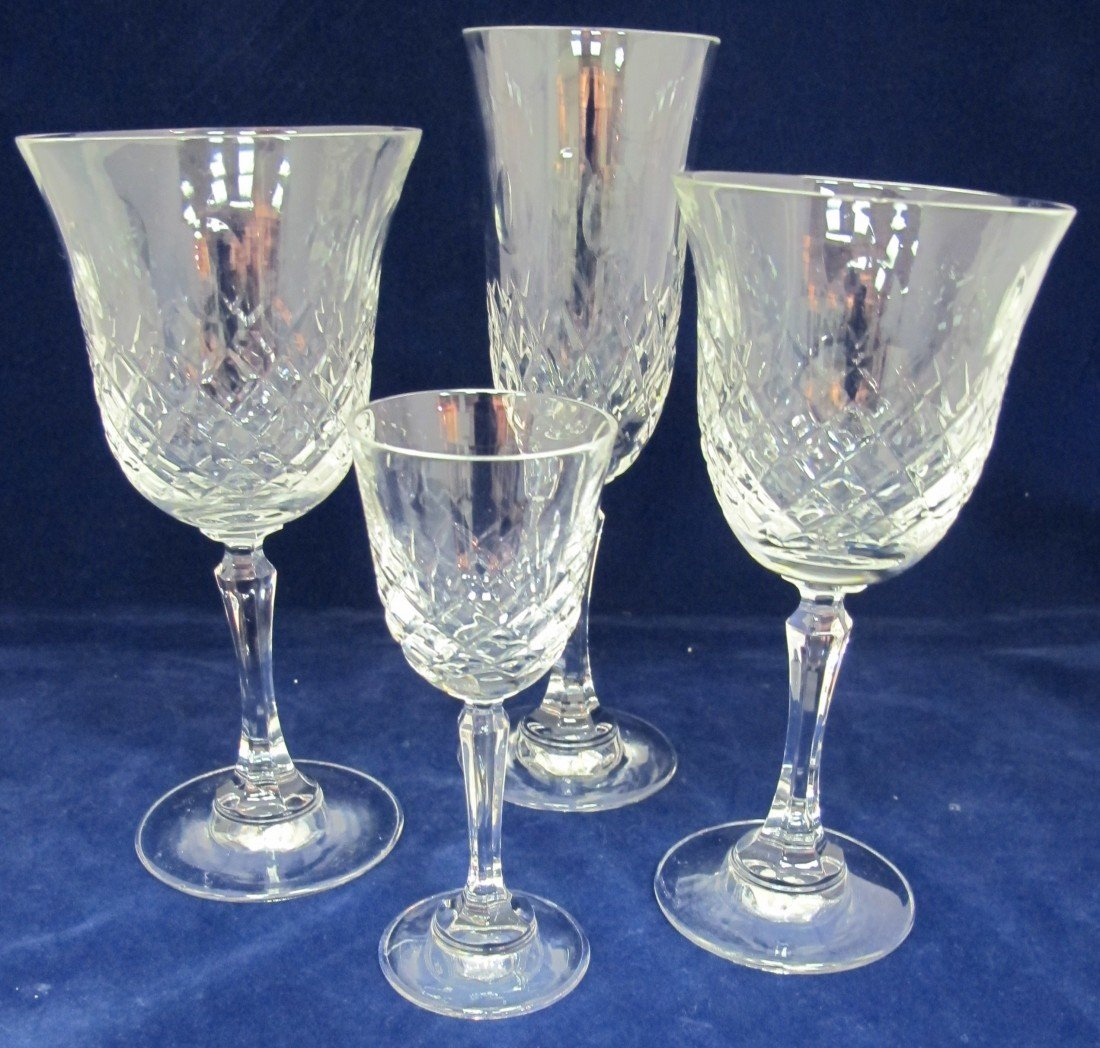 14: Collection of Lead Crystal Toscany Stemware to Incl
