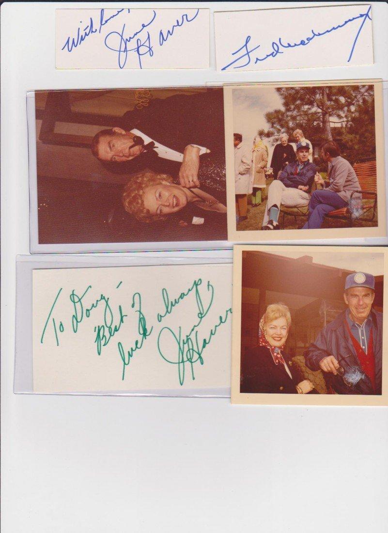 3: Fred MacMurray 1908-1991, Autograph Signature, Ameri