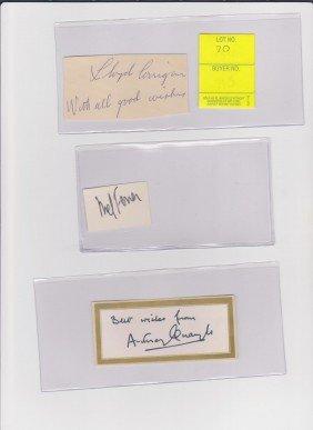 Lloyd Corrigan 1900-1969 Autograph Signature Actor,