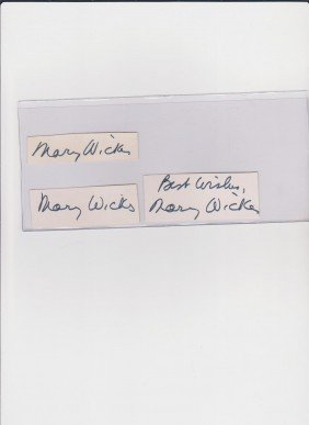 Mary Wickes 1910-1995 American Character Actressof