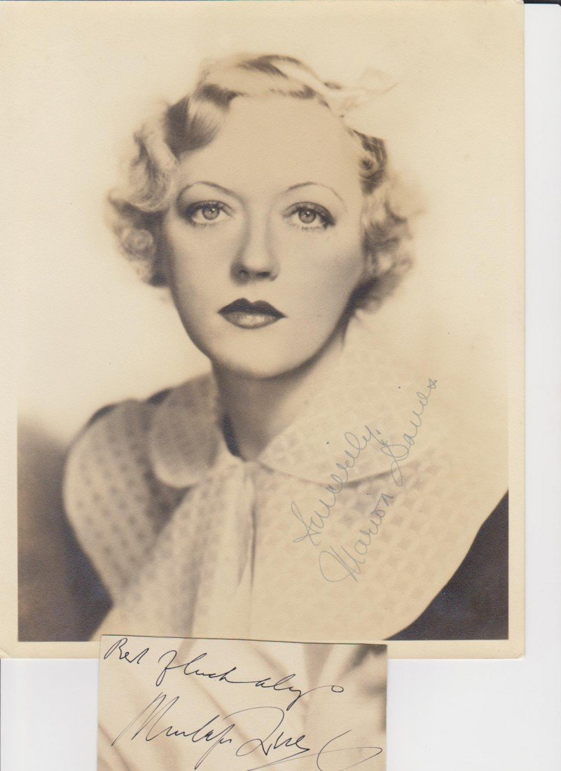 119: Marion Davies 1897-1961, Signed Photgraph and Auto