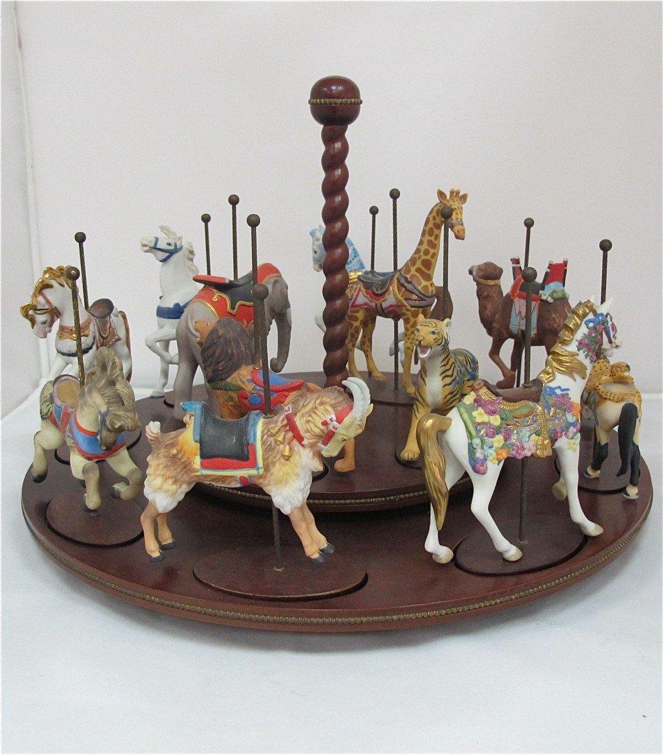 4: The Treasury of Carousel Art, 12 Authentic Miniature