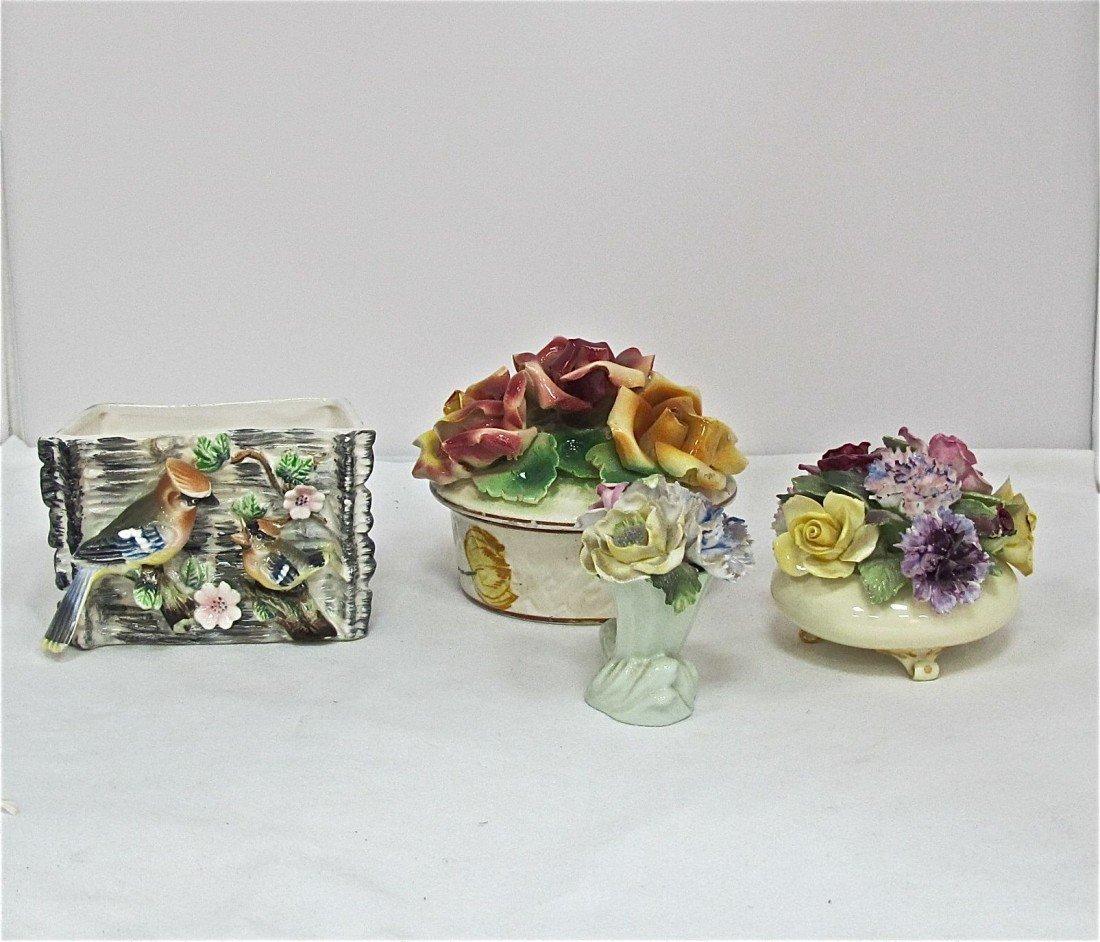 33: Royal Adderley Floral Porcelain Bone China Bouquet,