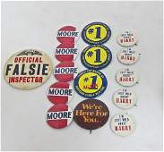 215: Collection of Political Buttons Including (32) I'm