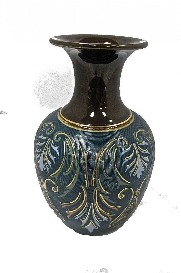 7: Lovatt Langley Mill, England Leadless Glaze Vase, 8.