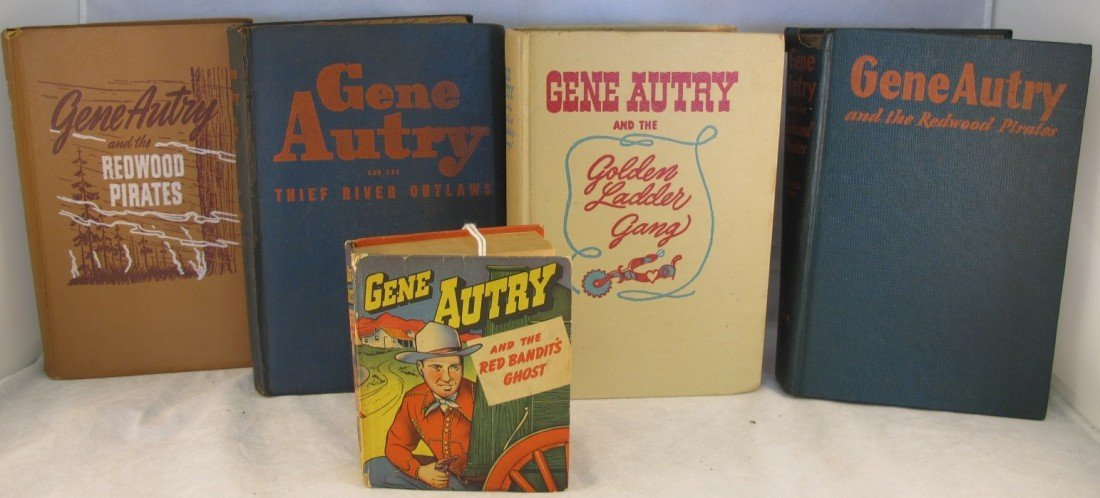 8: Gene Autry & The Red Bandit's Ghost (Little Big Book