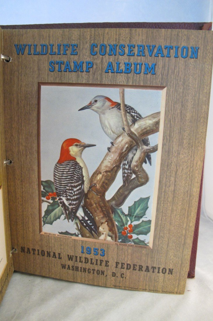 10: Wildlife Stamp Album National Wildlife Federation W - 10