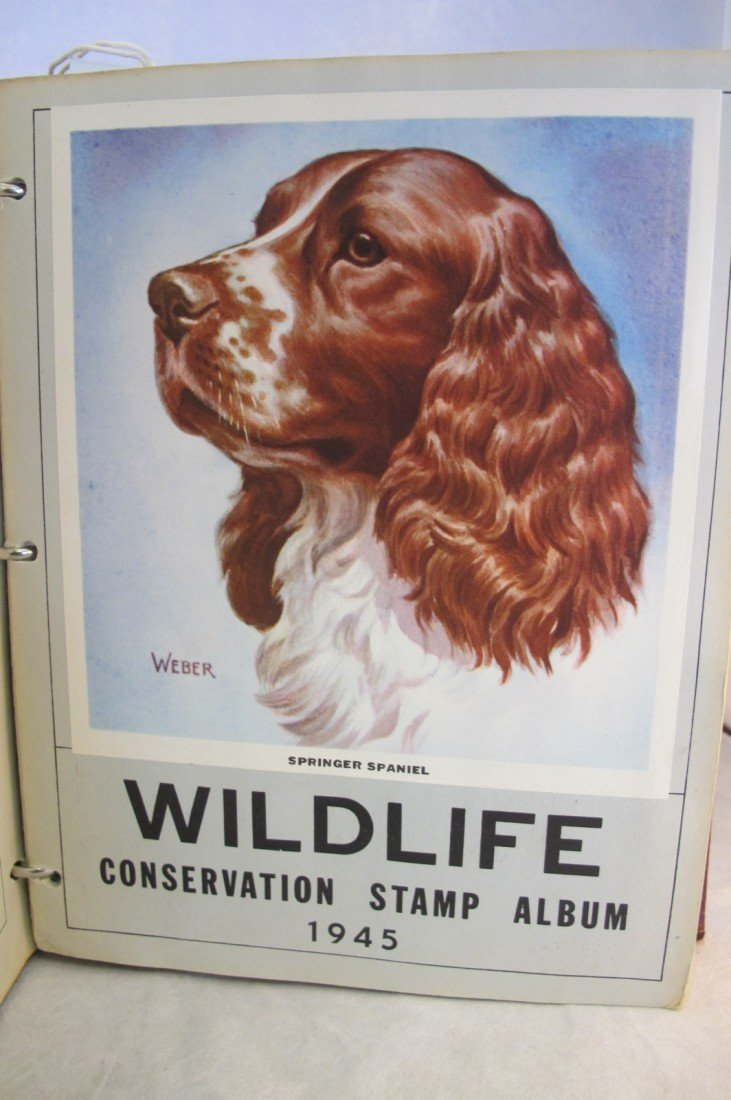 10: Wildlife Stamp Album National Wildlife Federation W - 2