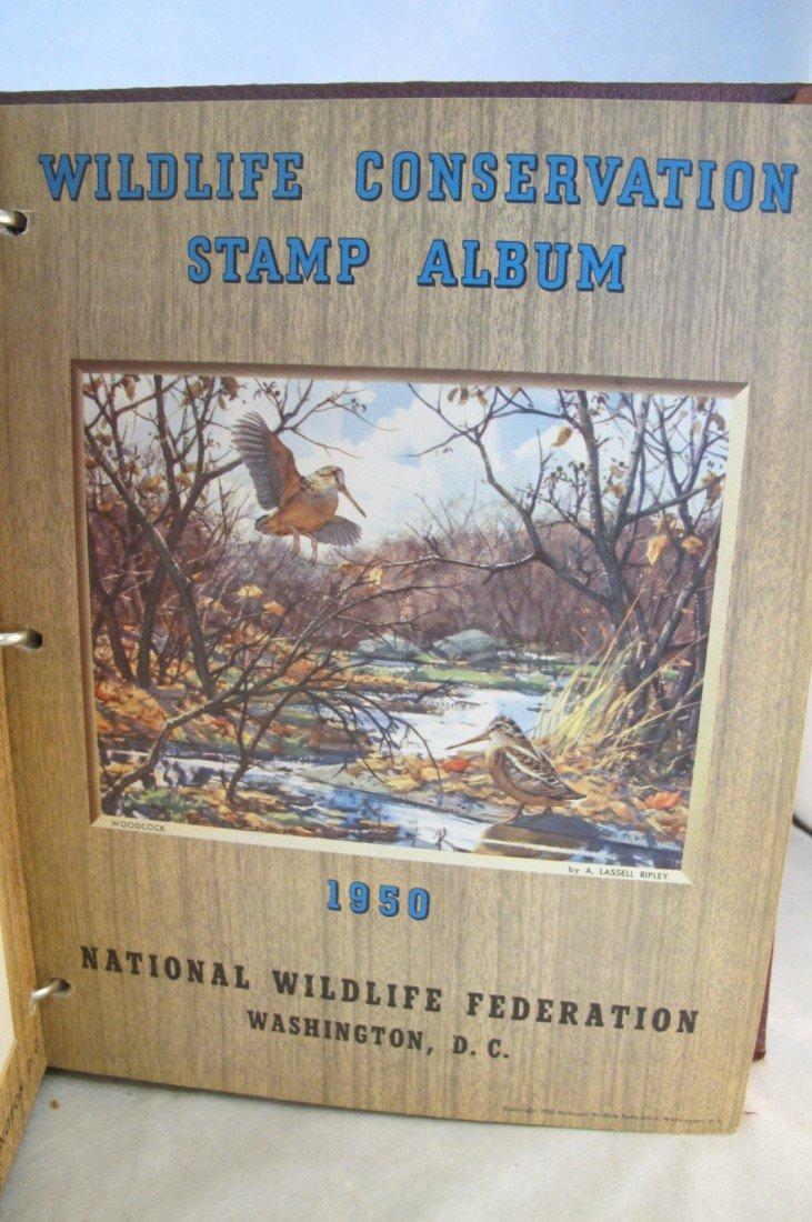 10: Wildlife Stamp Album National Wildlife Federation W - 7