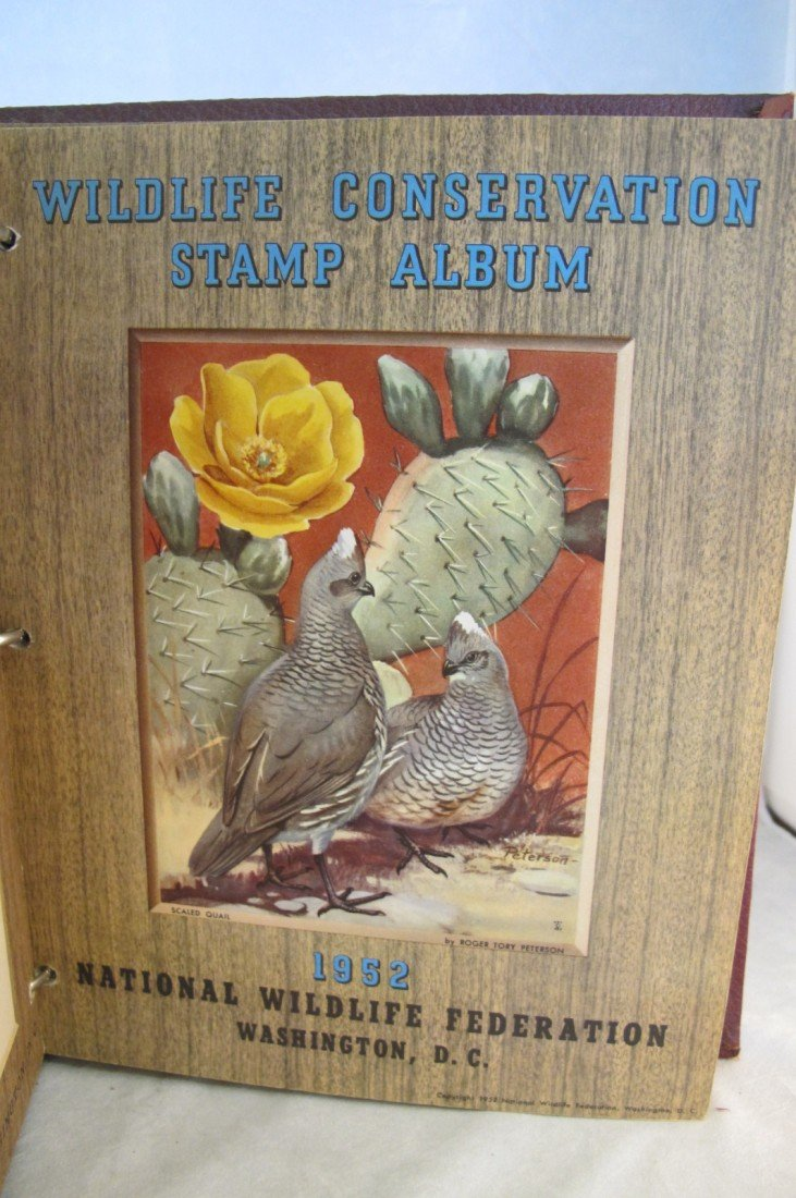 10: Wildlife Stamp Album National Wildlife Federation W - 9