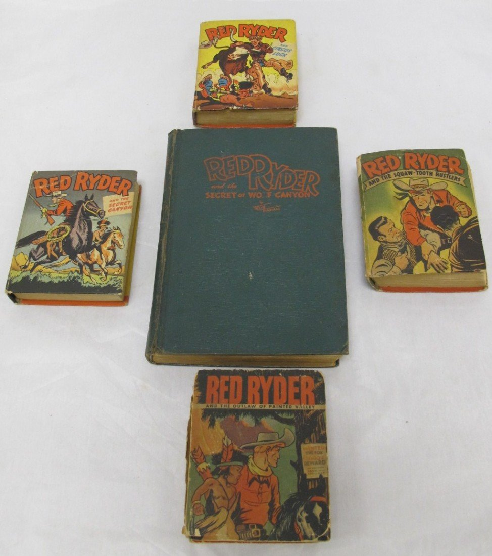 11: Collection Of 5 Red Ryder Books Based On The Famous