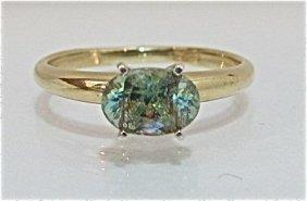 14K Yellow Gold Zultanite Ring, 1.52dwt