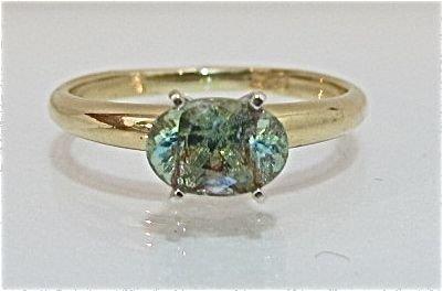 79: 14K Yellow Gold Zultanite Ring, 1.52dwt