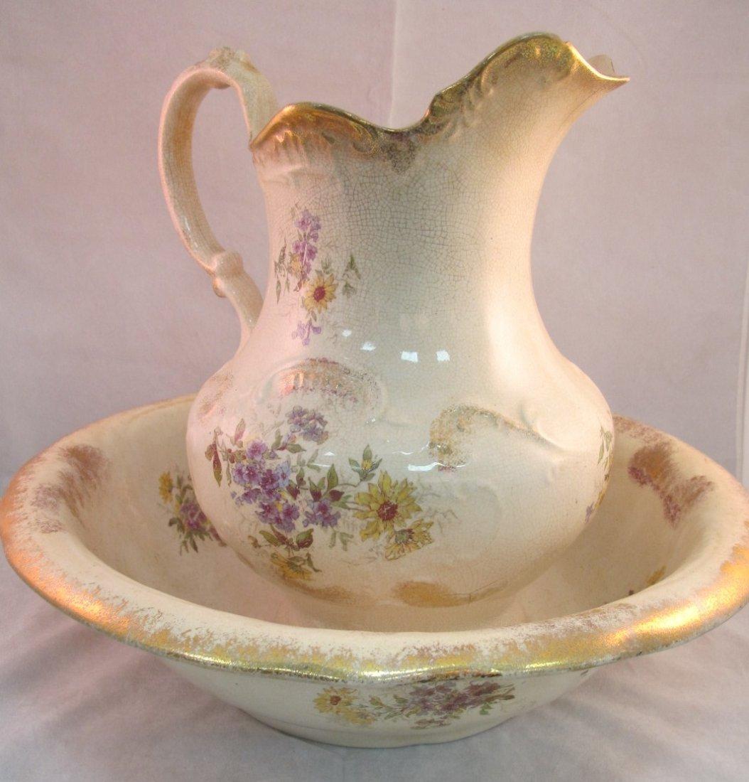 21: Burfords Porcelain Wash Basin