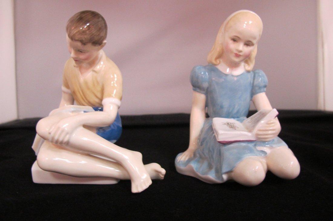 24: Royal Doulton Figurines Treasure Island HN2243, 196