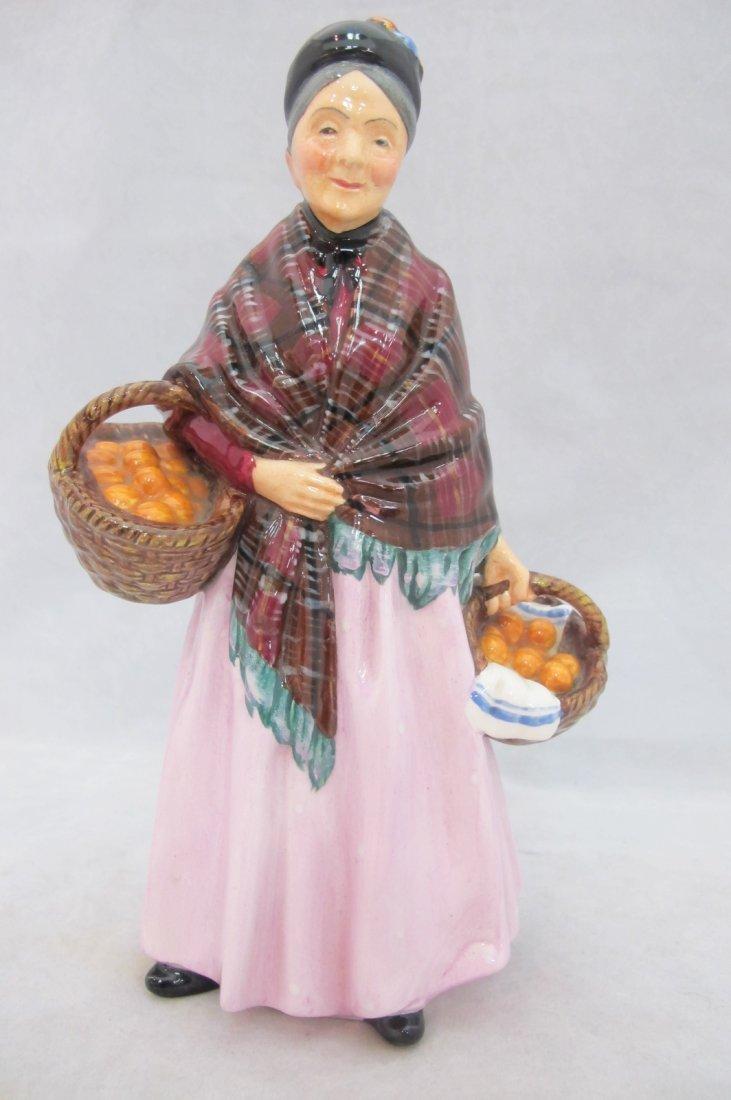 100: Royal Doulton Figurine, The Orange Lady,  HN1759T.