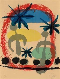"197: Affiche de L'Exposition ""Constellations"" by Miro"