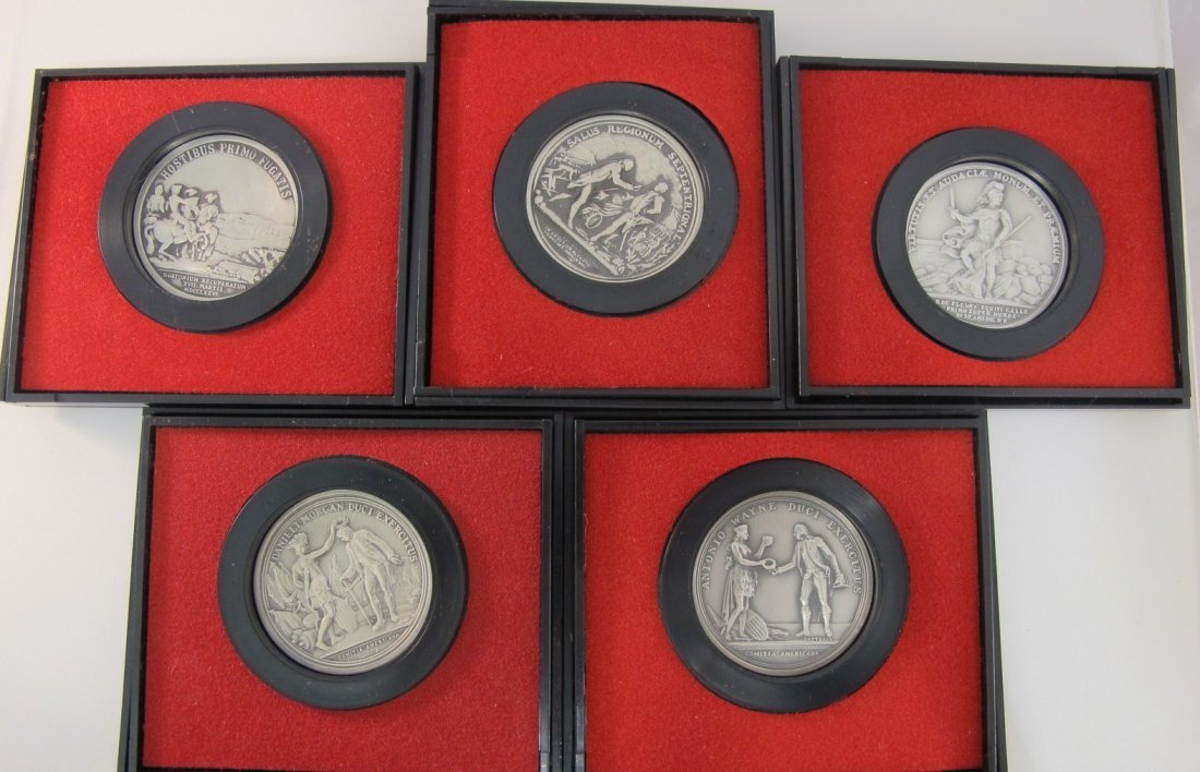 1: Lot of Five U.S. Mint America's First Medals