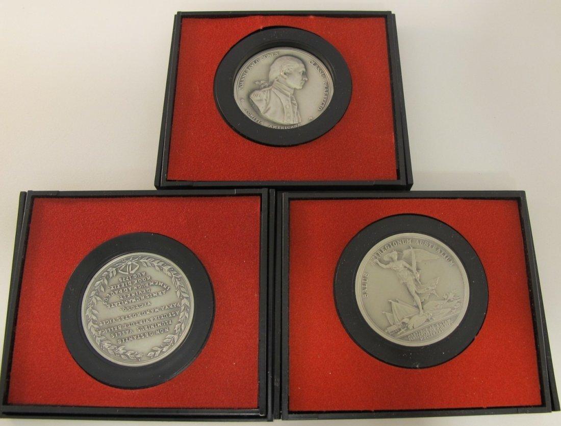 3: Lot of Three U.S. Mint America's First Medals