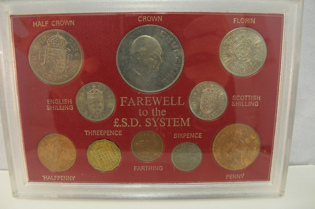 """7: 10 Coin Pack """"Farewell to the L.S.D. System"""""""