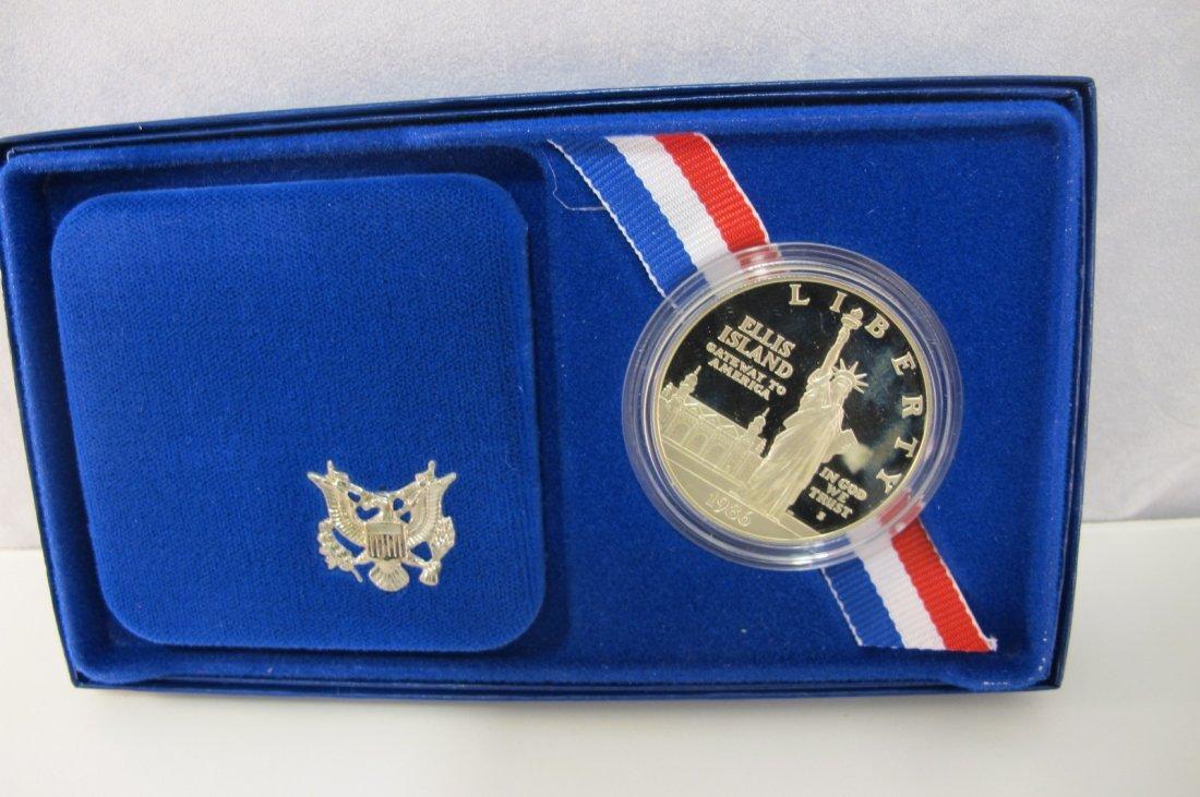 8: 1986 Liberty Silver Dollar
