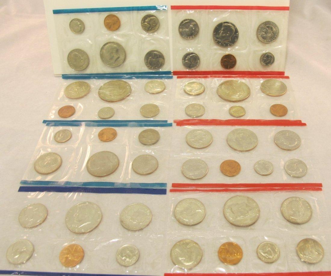 15: 1978, 1979, 1980, 1981 U.S. Mint Sets P&D
