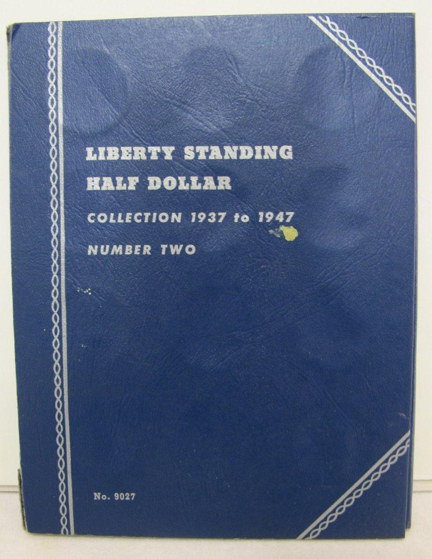 17: Blue Folder with Twenty Walking Liberty Half Dollar