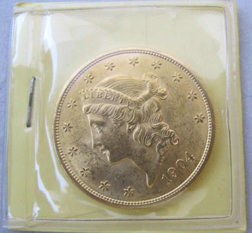 59: 1904 Twenty Dollar Gold Piece
