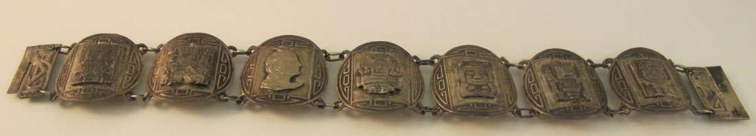 18: Sterling Silver Bracelet