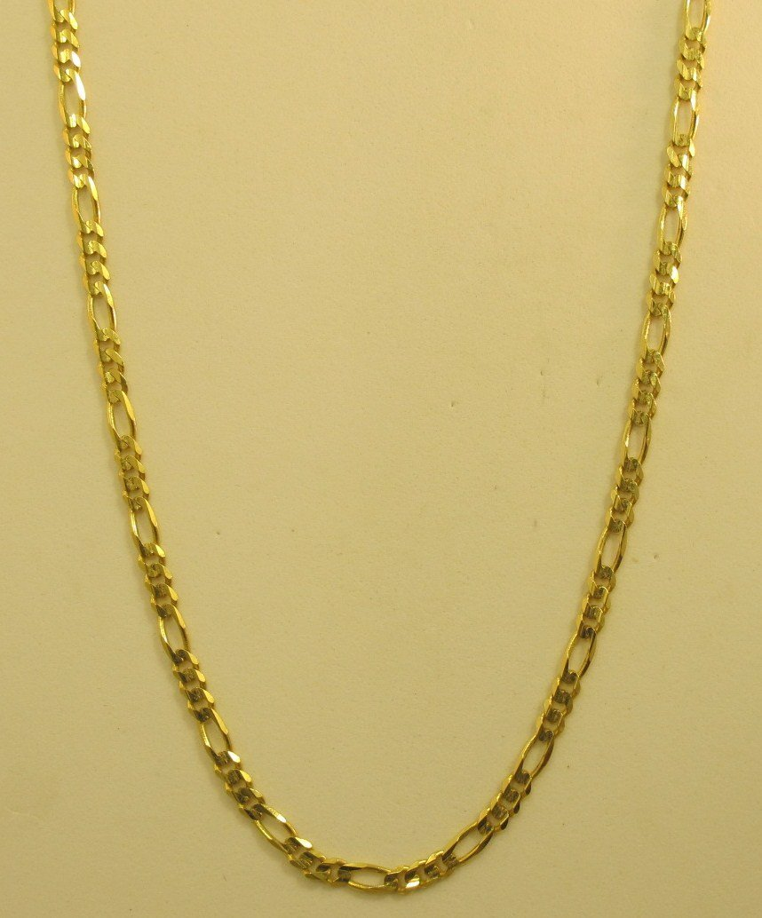 14K Yellow Gold Necklace, 6.27dwt