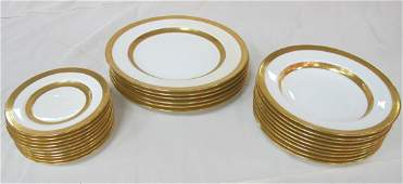 19 Minton Plates Manufactured for Bailey Banks and Bid