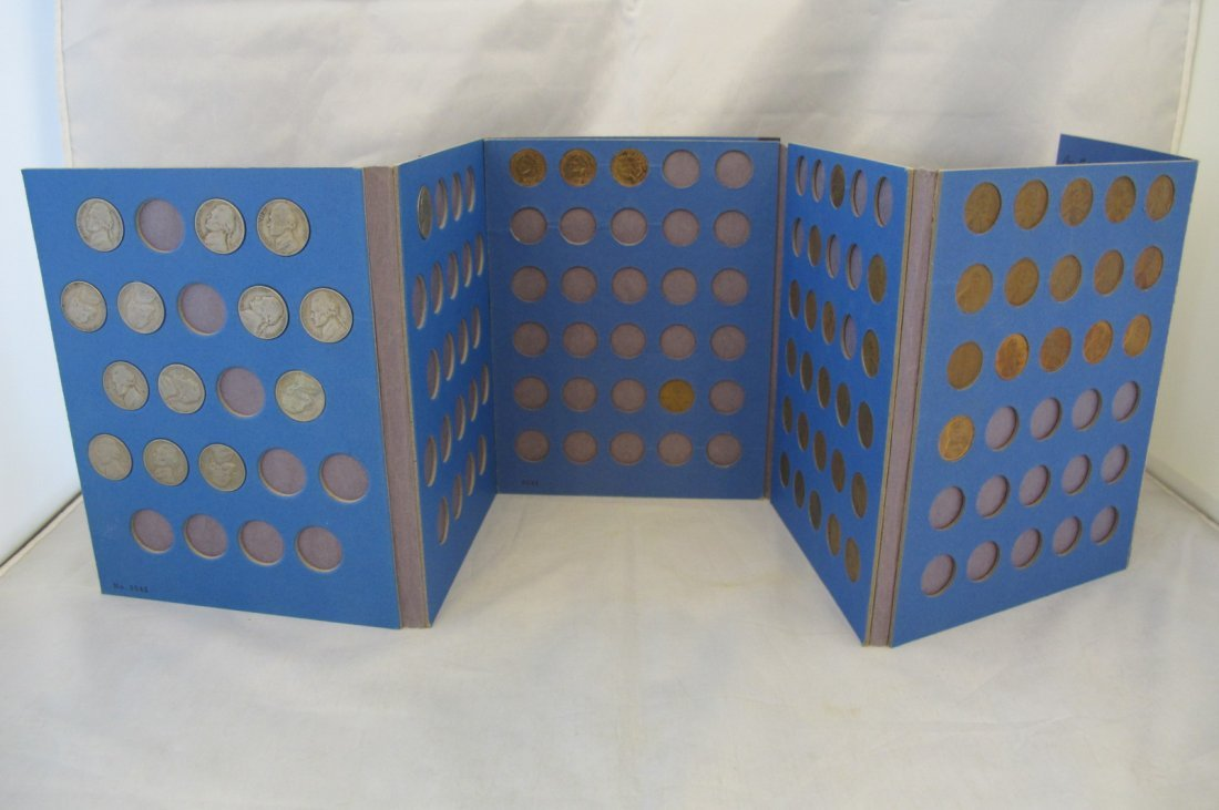Blue Folder of Various Copper Cents