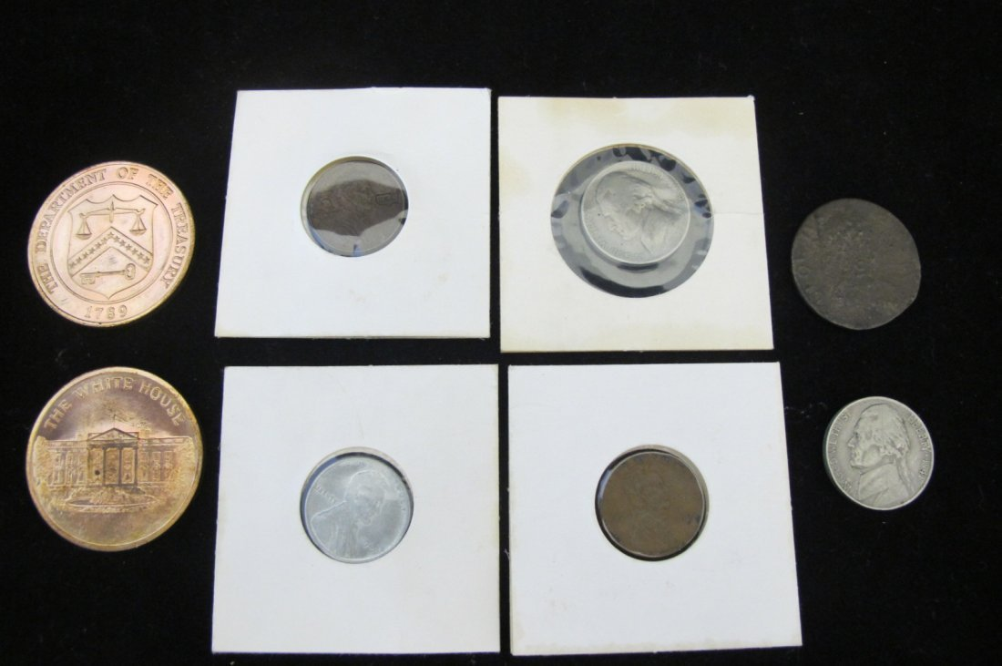 Miscellaneous Lot Consisiting of Two Jefferson Nickels,
