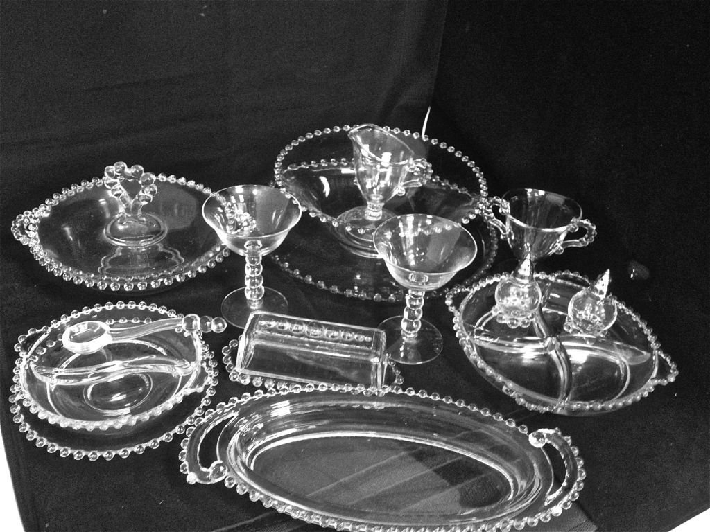 Collection of Candlewick Glass to Include