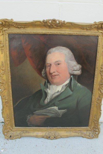 Gentleman Holding A Book by Johann Zoffany (1773-1810),
