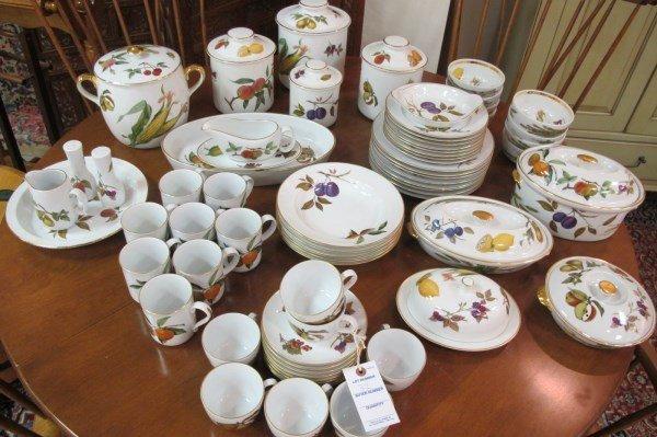 Royal Worcester Evesham Pattern Kitchen Set