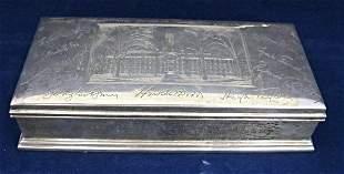 Sterling Box Gorham Signed from Princeton University