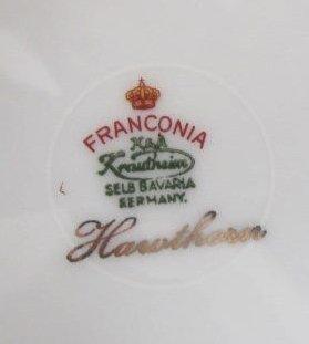 Franconia, K&A Krautheim Selb Bavaria Porcelain - 3