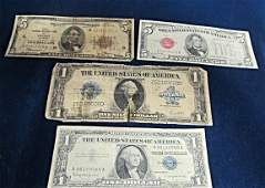 Large One Dollar Silver Certificate Note 1923 1957B