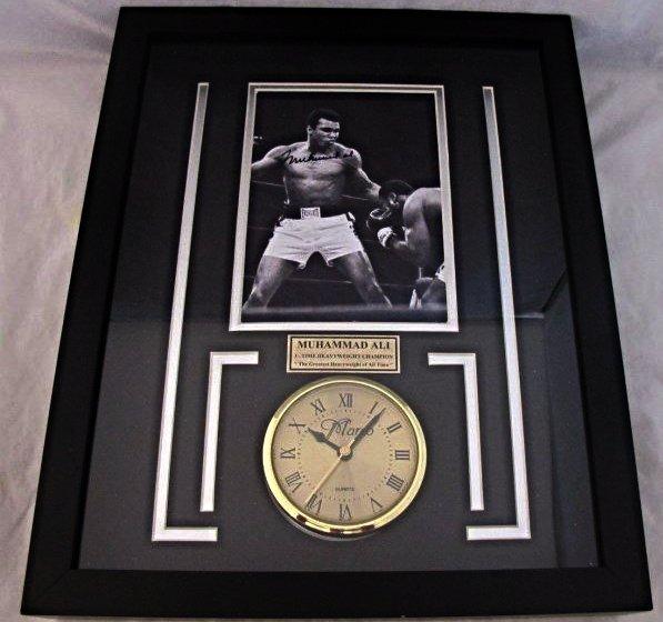 Muhammad Ali Signed Photograph, 3 Time Heavyweight