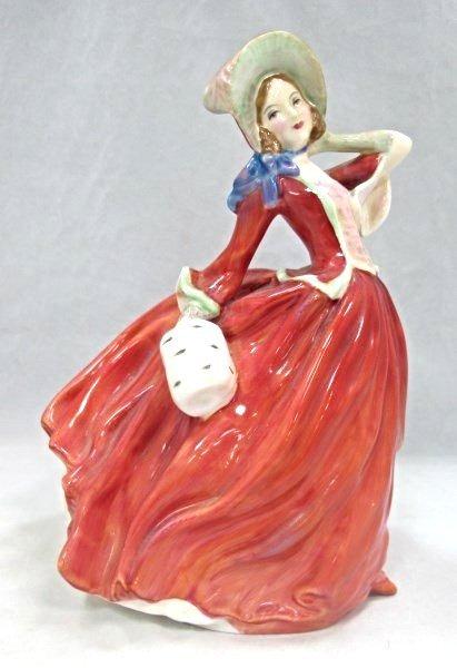 "Royal Doulton ""Autumn Breezes"" Figurine, #HN1934"