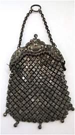 Miniature German Sterling Mesh Bag