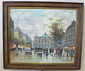 Avenue De L'Opera, Paris by Antonie Blanchard