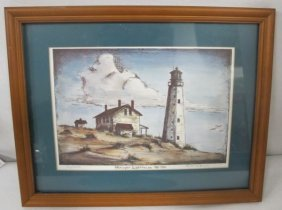 Henlopen Lighthouse 1765-1926 By Katherine Brown,